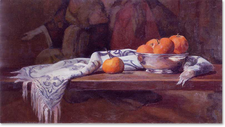 Oranges and Tapestry